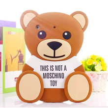 Fashion  Soft  Silicon shockproof drop resistance bear Cover Case for Apple iPad mini 3/2/1