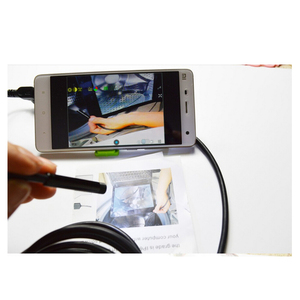 6 LED 7mm Android and PC Endoscope USB Waterproof Borescope Inspection Camera