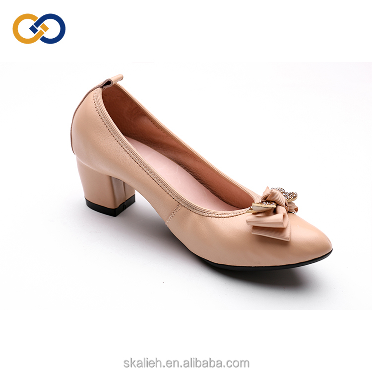shoes women with shoes MOQ Point low rhinestone shoes heel pink with high qIC5wa1wx4