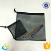 Custom nylon style small mesh drawstring bag