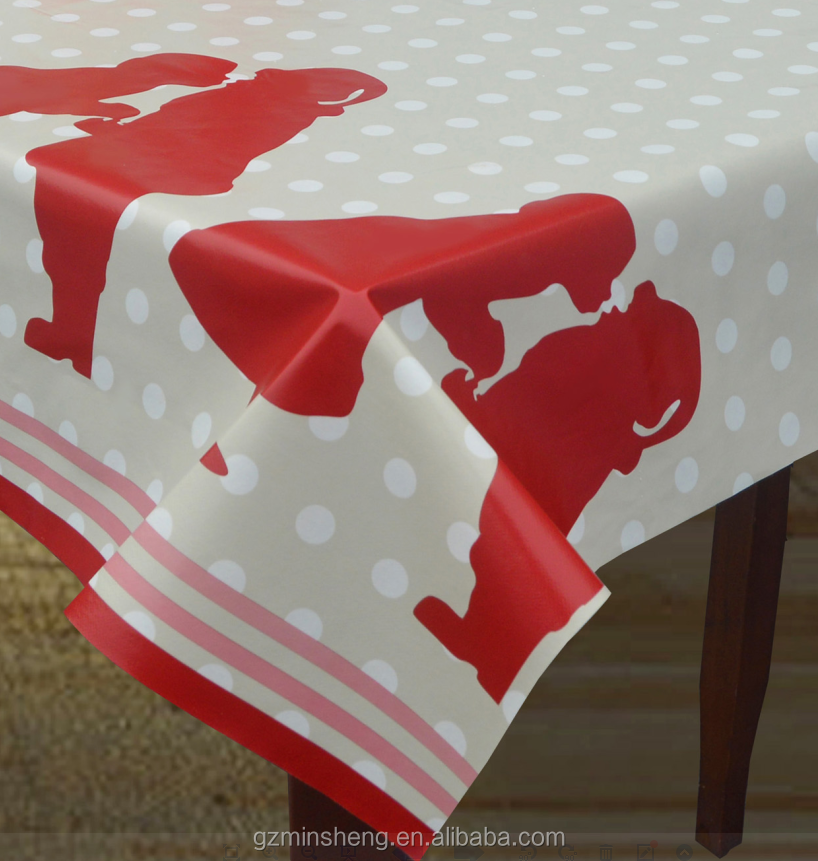 Childhood Memory non-toxic easy to clean pvc table cloth