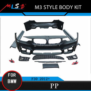M3 Style Body Kit Front Bumper For BMW F30 3 Series 2012