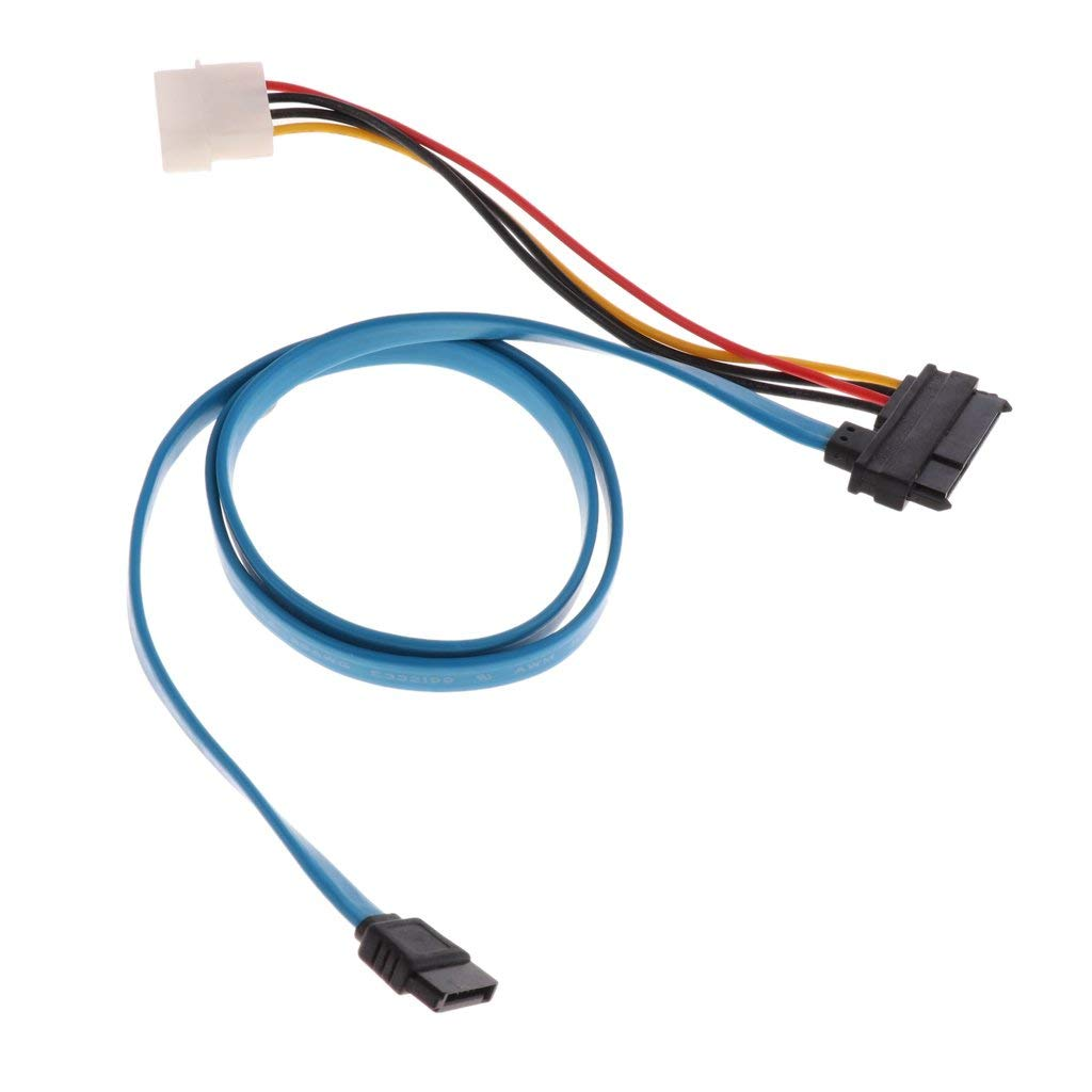 Get Quotations MagiDeal 7 Pin SATA Serial ATA To SAS 29 4 Cable Male Connector