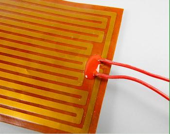 Custom Designed Pi Thin Film Heating Element,Polyimide Heater W/ 4-wire  Connection Pt100,First Grade Quality Guaranteed - Buy Custom Designed Pi  Thin