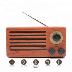 Multi-Function Radio Bluetooth Speaker Retro With Fm Radio