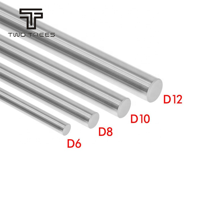 Customized length 200 300 330 350 400 500mm 600mm 800mm 900mm cnc machine diameter 10mm optical axis linear rail shaft rod