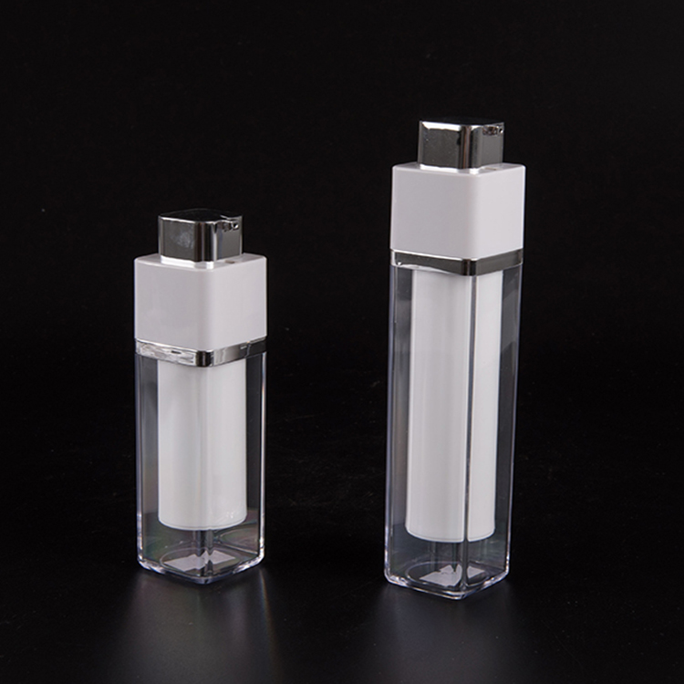 Professional Design Factory Sell Plastic Airless Bottles Cosmetic Spray Pump Bottle