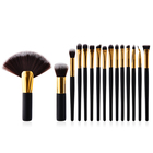 professional private label facial make up brush set makeup brush set wholesale