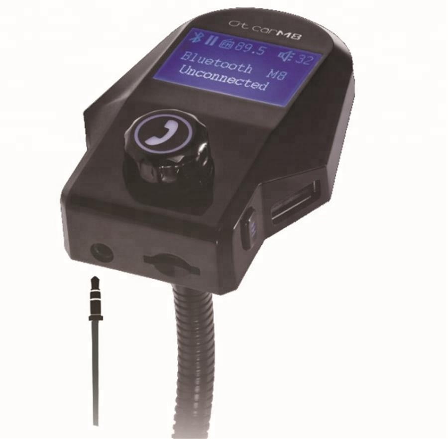 LCD Portable Blue-tooth Car MP3 Player FM Transmitter Modulator with USB SD Slot