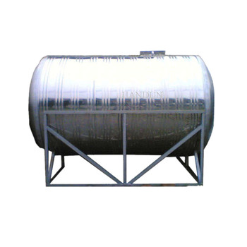 20000liters Capacity Polished Round Cylinder SS304L Truck Potable Water Tank