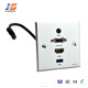 86x86cm USB HDMI Aluminum Wall socket