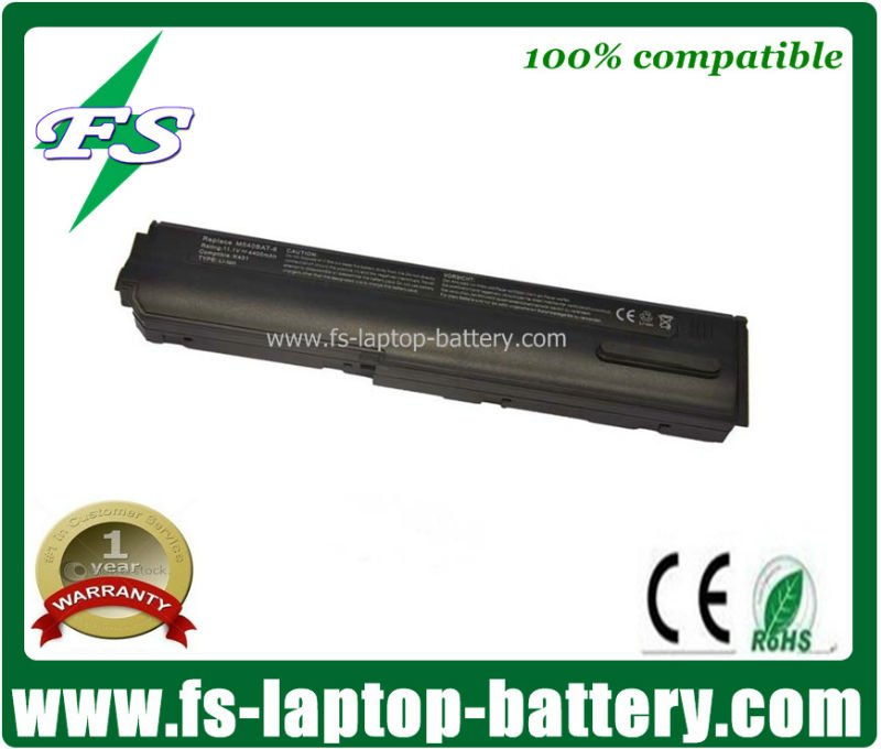 6cells 5200mah Replacement for Clevo M540BAT-6 battery