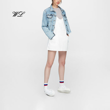 Hot selling meisjes <span class=keywords><strong>jurk</strong></span> mode <span class=keywords><strong>jurk</strong></span> custom <span class=keywords><strong>denim</strong></span> kleding