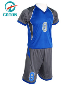 china imported sublimation red white custom kids soccer jersey