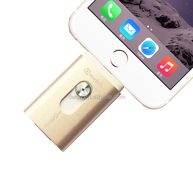 64GB USB Flash Drive for iPhone6 MFi certified usb flash drive promotional usb flash drive for gifts