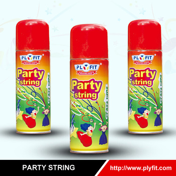spray crazy ribbon crazy string