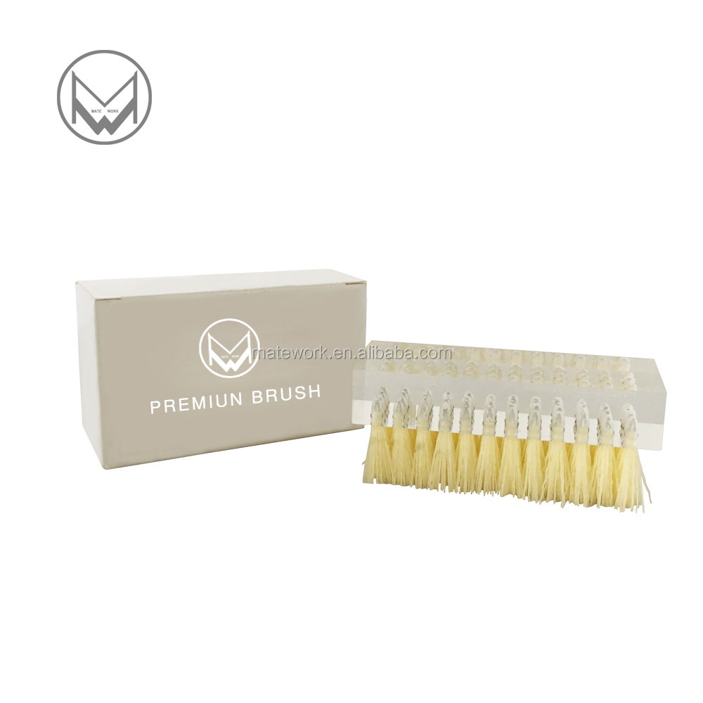 High quailty outdoor plastic hair crystal shoes brush,Premium cleaner with features softer hog bristles For leather,suede !