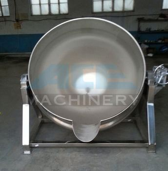 Ace Electric Heating Food Processing Jacketed Kettle For Cooking