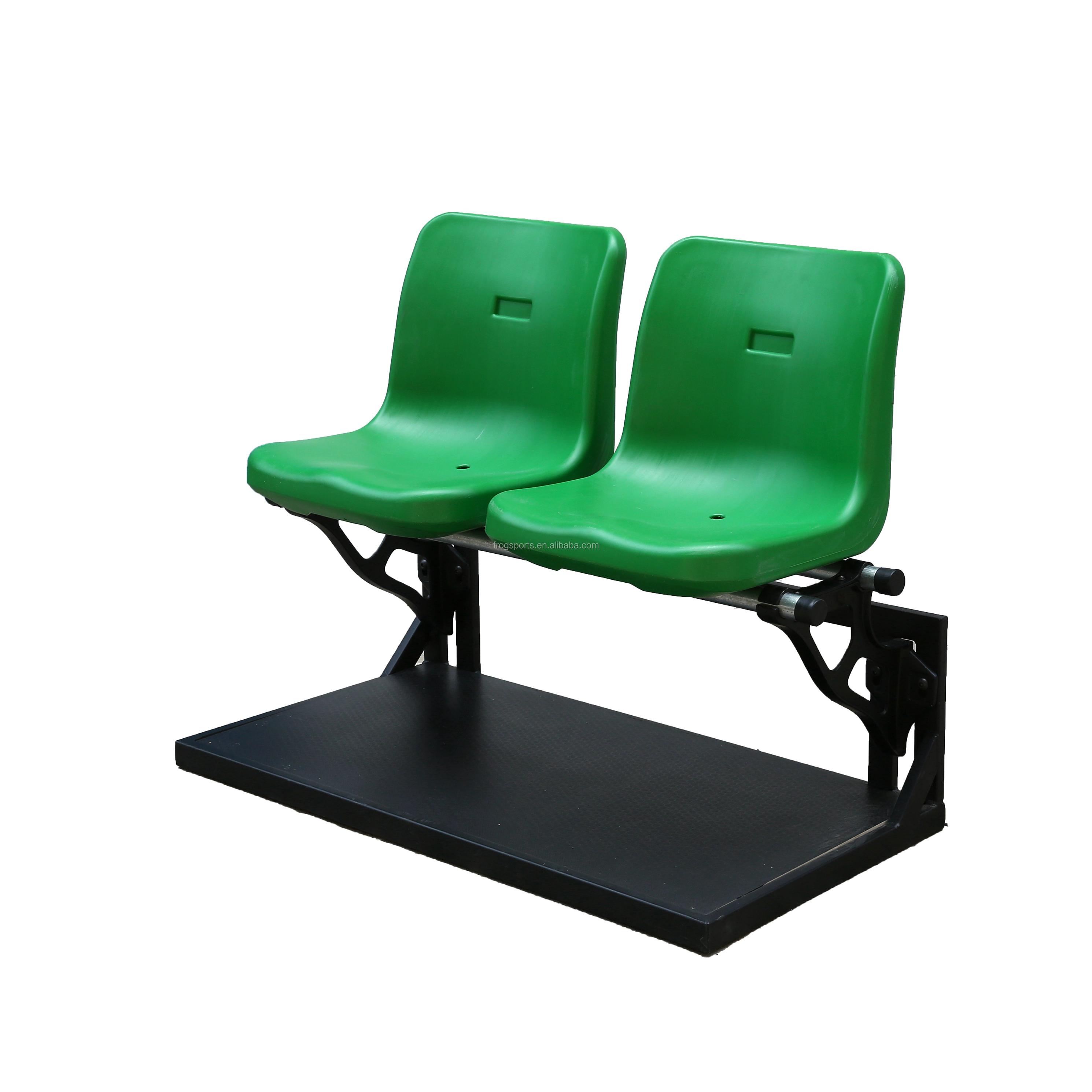 Assentos de plástico para assentos de arquibancada portátil estádio para jogo de futebol