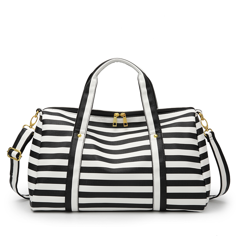 Bretón tendencia 2019 Weekender bolsa de viaje de cuero bolsa de lona de la noche a la mañana de la bolsa