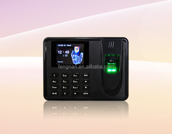 cheap newly CE ROHS simple fingerprint access control time attendance
