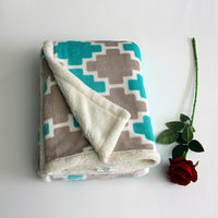 Custom home soft high quality baby thick heavy throw blanket throw organic cotton baby blanket