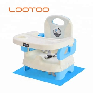 Cheap price hot sale travel portable toddler infant child baby low booster feeding seat chair with tray