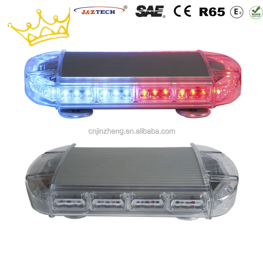 Super Bright 3W LED Magnetic Police Strobe Signal Light