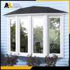 Aohlong manufacturer PVC profile interior bow windows and fixed window