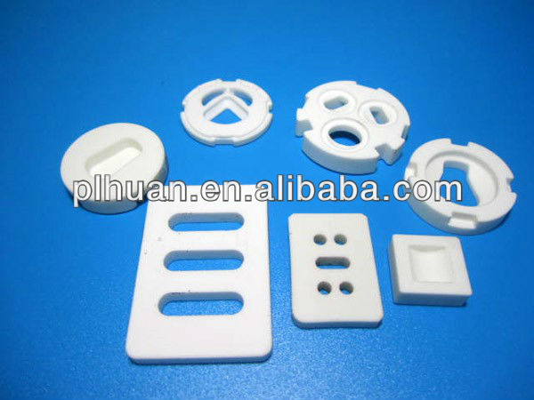 Special-shaped alumina ceramic products