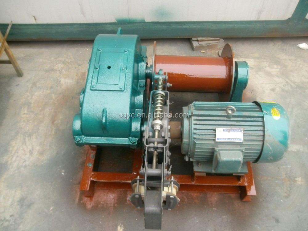 200m Wire Rope Industrial Winch Electric Motor Cable Pulling Winch ...