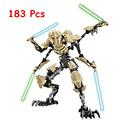 NEW KSZ Star Wars 7 General Grievous with Lightsaber Storm Trooper w gun Figure toys building