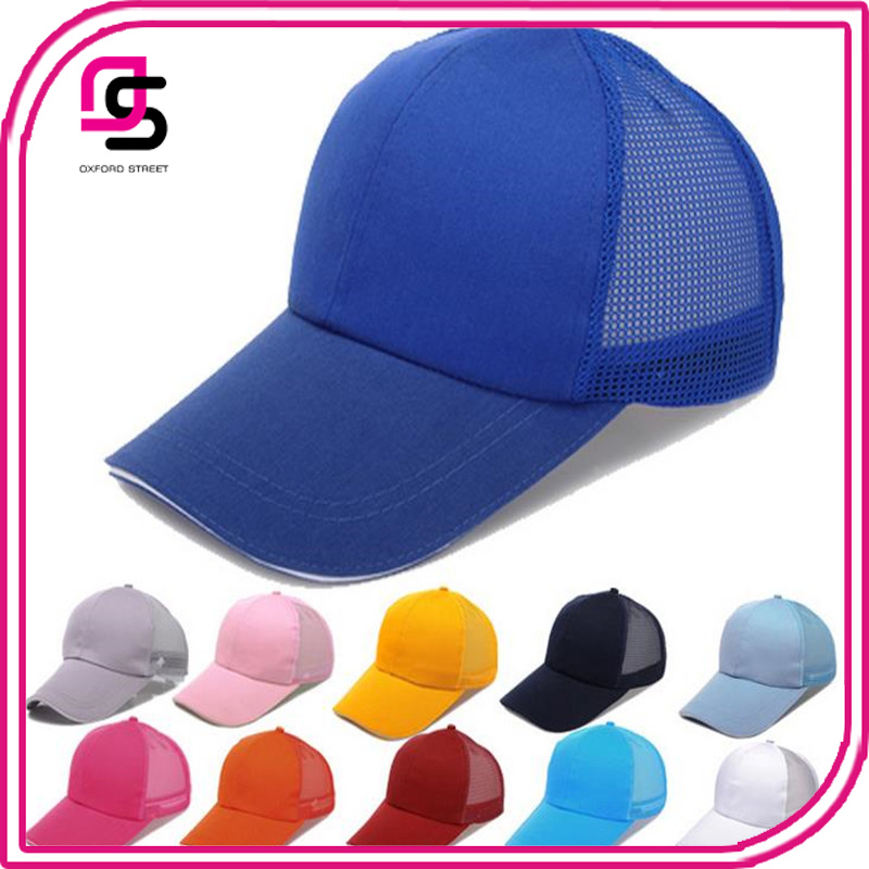Breathable Mesh Snapback Summer Sun Hat Sports Baseball Caps