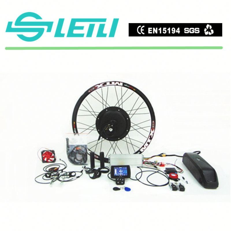 pedelec motorcycle hub motor kit with the TFT display