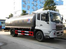 10 ton Milk Transportation Truck With Stainless Steel Milk Transportation Tank