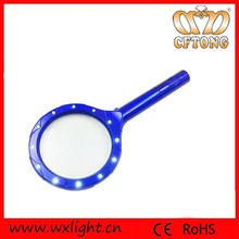 Portable Battery Illuminated Led Magnifier Glass