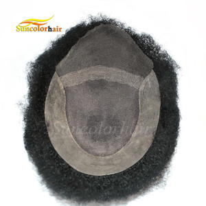 Afro Hair for African American Black Men Lace Front wigs for African