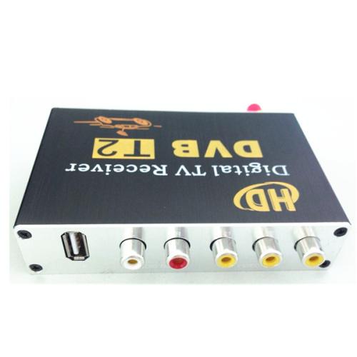 DVB-T2 Car MPEG-4 H.264 HD 1080P Digital Car TV Tuner Car DVB T2 For Europe, Southeast Asia, Russia, Thailand, Columbia