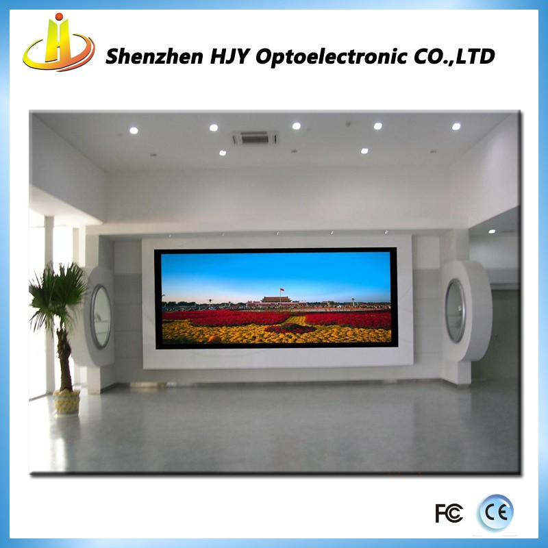 HJY Suppliers advertising billboard indoor full colour P4 1/16scan indoor electronic led sign display digital LED screen