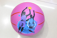 Customized quality rubber basketball for wholesale