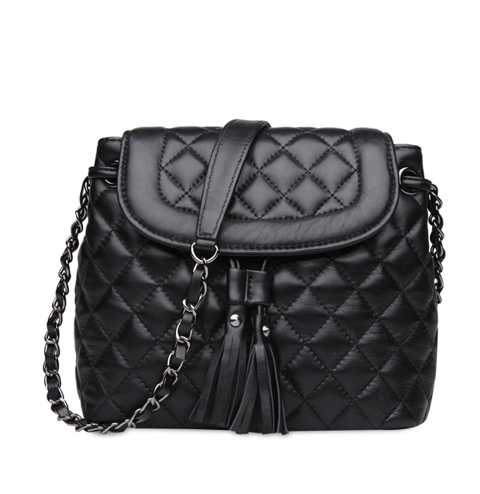 c487a050ab12 Buy Ainifeel Womens Bucket Handbags Quilted Genuine Leather Shoulder  Handbags Chain Strap Cross Body Handbags Purses in Cheap Price on  Alibaba.com