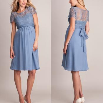 Short Dress Pregnant Woman