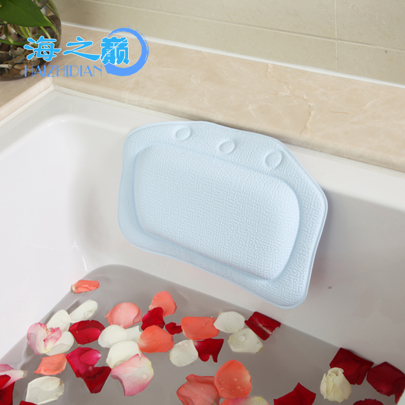 Hot Sale Cushioned Eco-Friendly Natural Spa Bath Pillow,Luxury Bath Pillow