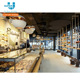 Supplies Custom Made Professional Shop Fitting Display Fixtures Bakery Shop Furniture