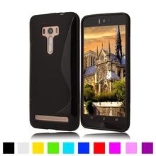 For S Line Anti Skid Gel Silicon Soft TPU Case For Asus Zenfone 2 Laser ZE500KL ZE500KG 5.0″ Mobile Phone Back Cases