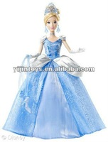 2015 new Fashion doll figure;Plastic Elsa doll with clothes;Vinyl Frozen Elsa doll toy