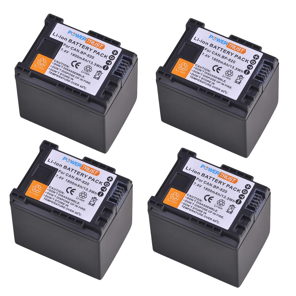 BP-828 BP-820 Lithium-Ion Battery for Canon HF-M40 HF-M41 HF-S30 HF-G20 HF-G30 фото