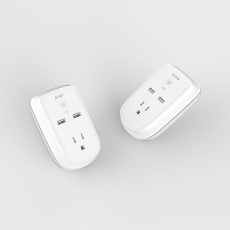 Residential  General-Purpose Good Quality Use Safety 2 In1 Smart Plug Wifi USB Socket