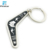 Custom Printing Epoxy Stainless Iron Metal KeyChains for Promotional Gift