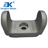 nan jing workshop cast iron parts sand casting QT400 GGG40 OEM service